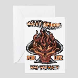 AGENT ORANGE FOR LIFE Greeting Card