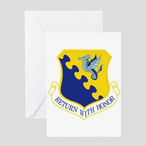 31st Fighter Wing Greeting Card