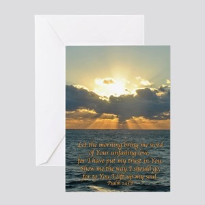 psalm143v Greeting Card