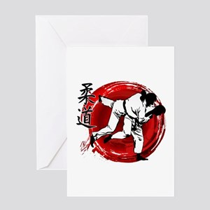 Judo Greeting Cards