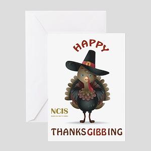 THANKSGIBBING Greeting Cards