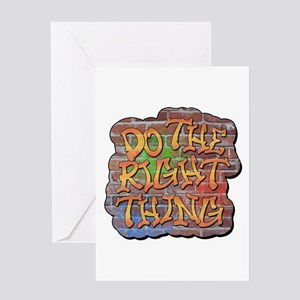 Do the Right Thing Greeting Card