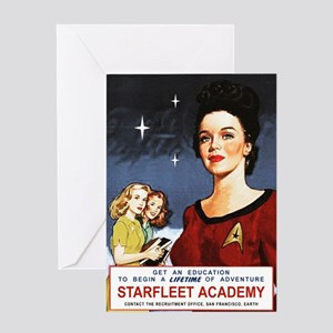 star-trek_vintage-starfleet-poster Greeting Card