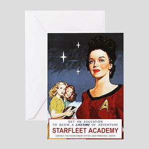 star-trek_vintage-starfleet-poster Greeting Card