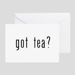 got tea? Greeting Card