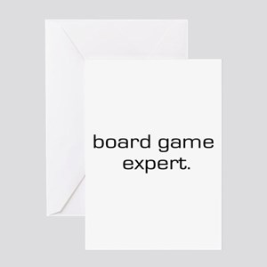 Board Game Expert Greeting Card