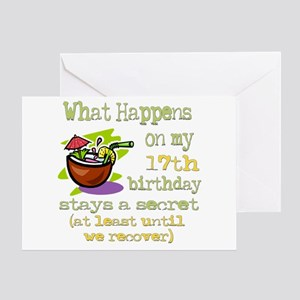 What Happens 17th Greeting Card