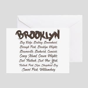 Brooklyn Hoods Greeting Card