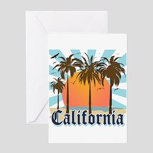 Vintage California Greeting Card