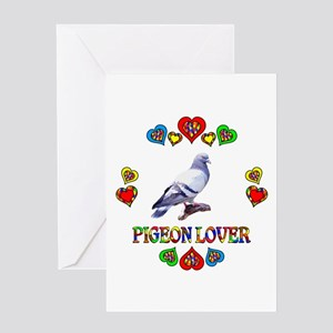 Pigeon Lover Greeting Card