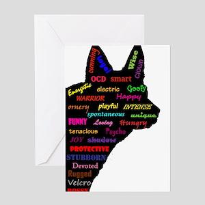 Blue Heeler Tribute Greeting Cards