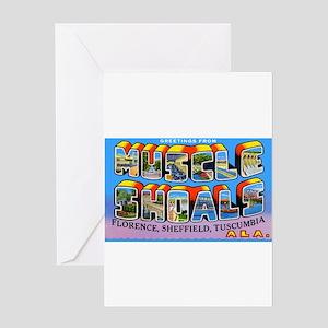 Muscle Shoals Alabama Greetin Greeting Card