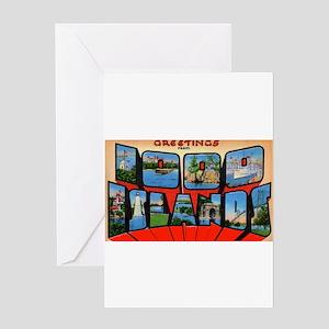 1000 Islands New York Greeting Card