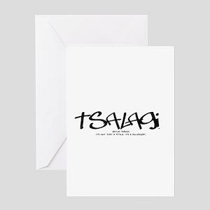 TsalagiTag copy Greeting Card