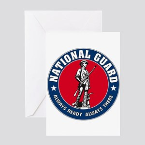 National Guard Logo Greeting Card