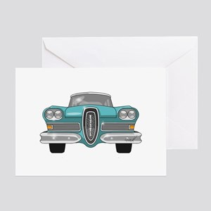 1958 Ford Edsel Greeting Card