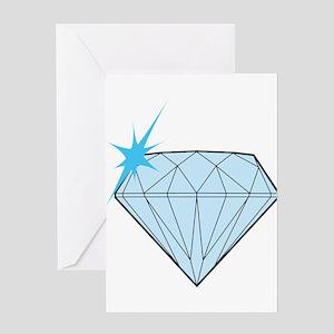 Diamond Greeting Card
