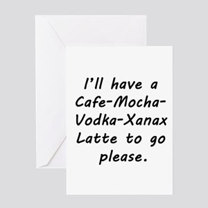 I'll Have a Latte Greeting Card