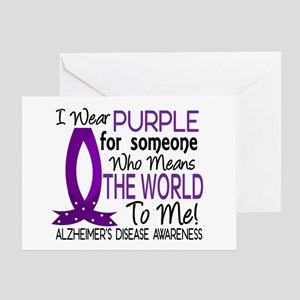 Means World To Me 1 Alzheimer's Disease Shirts Gre