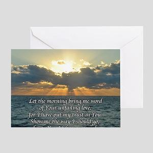 psalm143sq Greeting Card