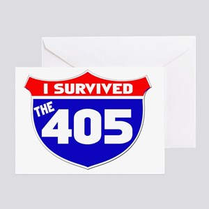 survived405 Greeting Card