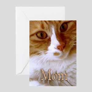 Happy Mother's Day Sweet Cat Greeting Card