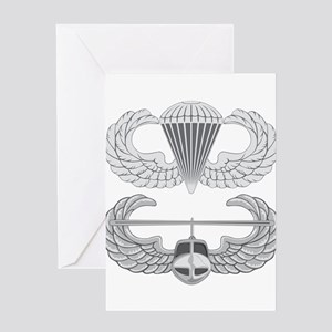 Airborne and Air Assault Greeting Card