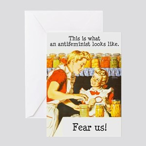 This is what an antifeminist Greeting Card