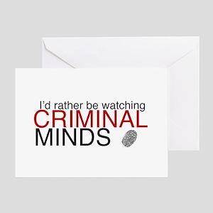 Watch Criminal Minds Greeting Card