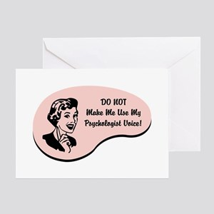 Psychologist Voice Greeting Card