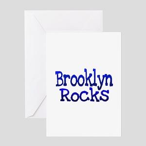 Brooklyn Rocks Greeting Cards