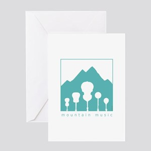 Mountain Music Greeting Card