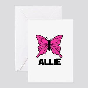 Butterfly - Allie Greeting Card