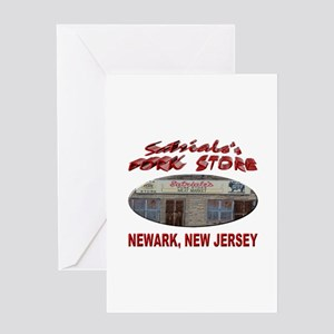 Satriale's Pork Store Greeting Cards