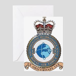 1 Photo Recon Unit RAF Greeting Card