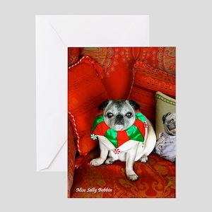 Miss Sally Christmas Greeting Card