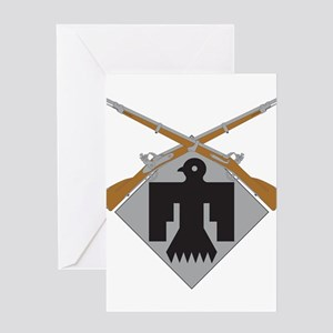 45th Infantry Greeting Card