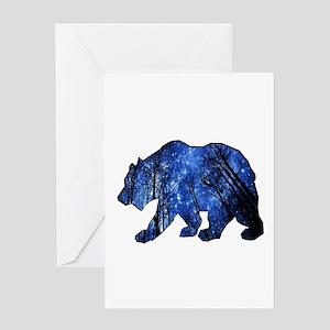 BEAR NIGHTS Greeting Cards