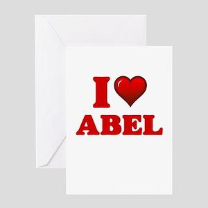 I love Abel Greeting Cards