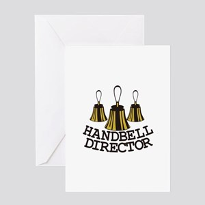 Handbell Director Greeting Cards