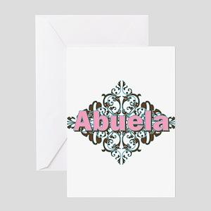 Abuela Spanish Crest Greeting Card