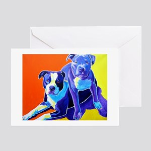 Pit Bull #22 Greeting Card