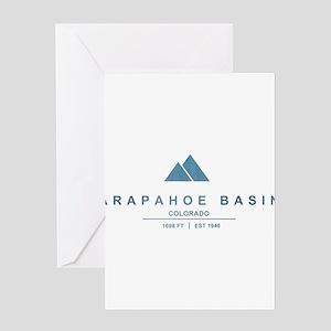 Arapahoe Basin Ski Resort Colorado Greeting Cards
