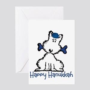 Dog Hanukkah Greeting Card