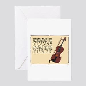 Fiddle Freak Greeting Cards