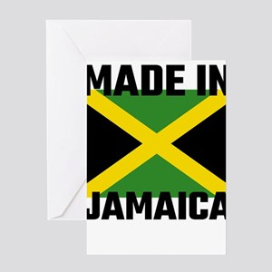 Made In Jamaica Greeting Cards