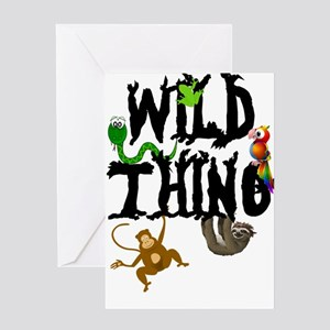 Wild Thing Greeting Cards
