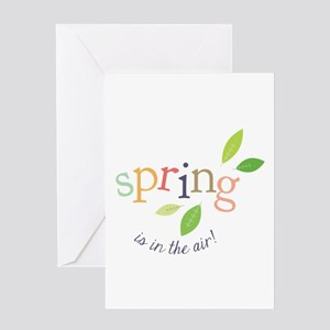 Spring In The Air Greeting Cards