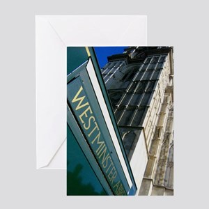 Westminster Abbey Greeting Card