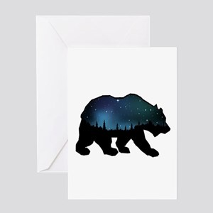 BEAR SKIES Greeting Cards